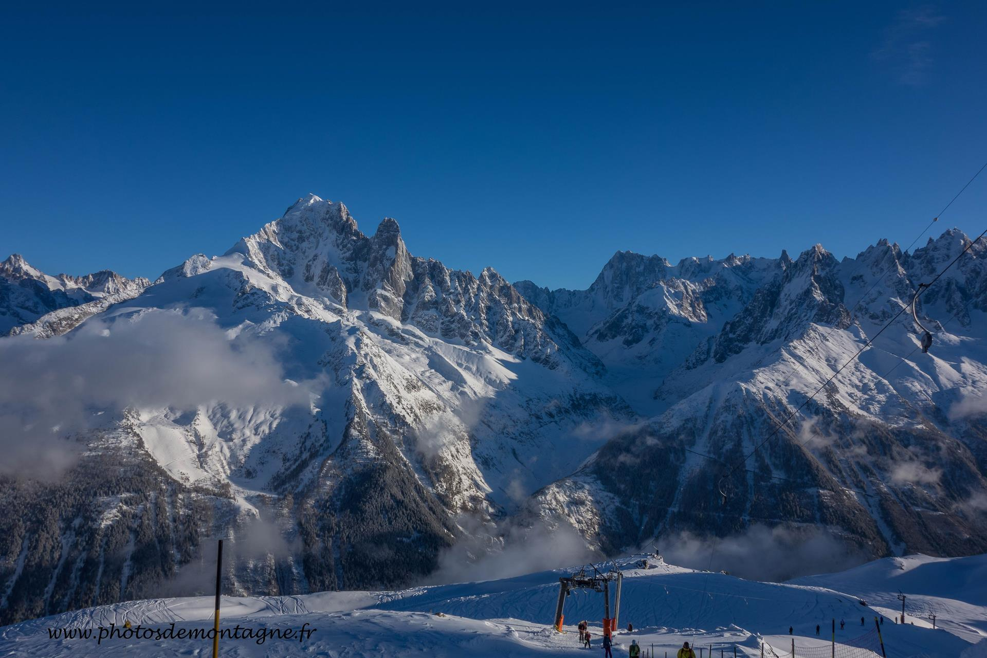 Brevent Chamonix Ski and winter activities Brevent Flegere in the