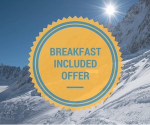 Breakfasts included offer