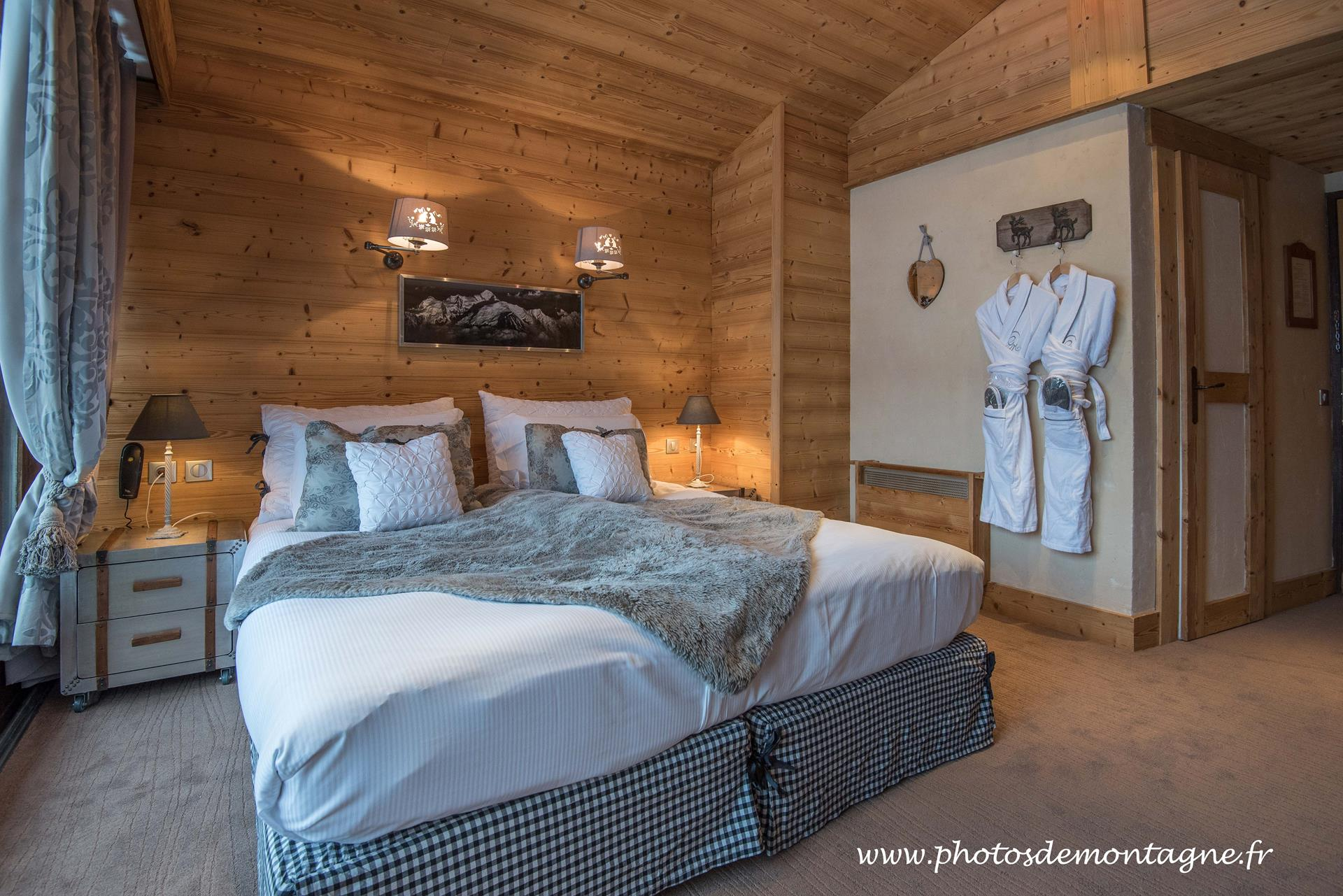 D co chambre esprit montagne for Decoration de chalet
