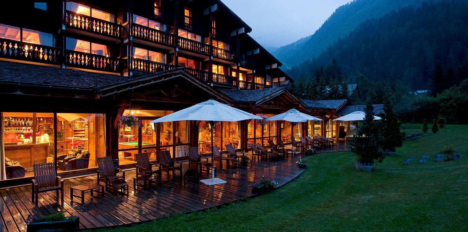 ski hotel in chamonix ski in ski out hotel ski resort